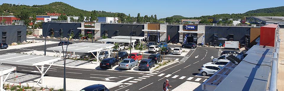 Retail Park - St Mitre le Remparts